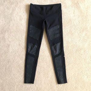 ALO Yoga Moto Leggings Gray  Size Medium